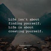 """PositiveMindsetDaily auf Instagram: """"Das tiefste Geheimnis ist, dass das Leben nicht … – Quotes of Wisdom"""