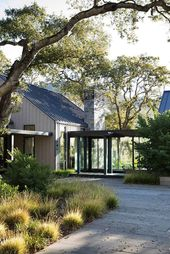 Tour an absolutely stunning modern farmhouse in Sonoma wine country