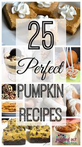 25 Perfect Pumpkin Recipes