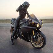 Ich mag Motorradfahren für mein Leben und ich bin absolut ledergeil. Ich & # 3 …   – Motorcycle