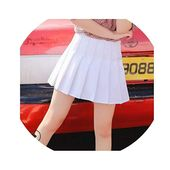 church123 Women's Skirts Ladies Punk Kawaii Ulzzang Wind Student Pleated Ski…