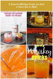 """EASY WHISKY DRINK IDEEN UND REZEPTE: Jeder kann ein """"Whisky Girl"""" sein, mit dem man …"""