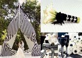 Zwart en wit: een altijd elegante bruiloft in 60 ideeën – Nieuwe Decoratie