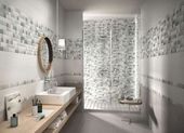 Photo of Mosaic bathroom tiles