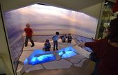 Interactive displays for kids are a big part of the experience, but active young... 2