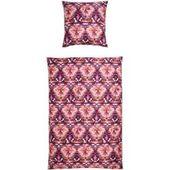 Janine Pillowcase individually 40×40 cm narrow stripes Striped bed linen modern classic perlblau   – Products
