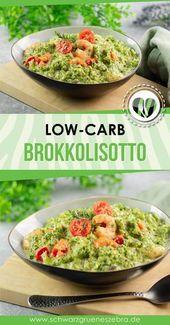 Brokkolisotto mit Garnelen und Tomaten – Rezeptideen