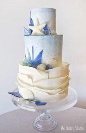 90+ Showstopping Hochzeitstorte Ideen für jede Jahreszeit   – Kreative Kuchen & Cupcake Dekoration
