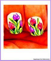 99 spezielle Sommer Nail Designs # Thumbnail Design # Pastell # Einfach #Blumen …   – Nageldesign Schlicht
