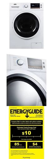 Washer Dryer Combinations And Sets 71257 Summit Spwd2200 2 0 Cu Ft Washer Dryer Combo Buy It Washer Dryer Combo Combination Washer Dryer Washer And Dryer
