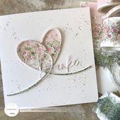 Baby Cards Papierliebelei: ein Herz aus Washi