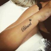 40 idées de conception de tatouage béni avec un sens pour vous | Tatouage d'oie …   – tattoo