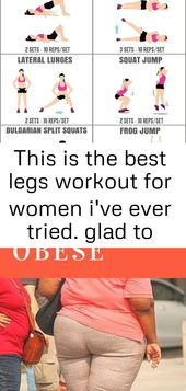 This is the best legs workout for women i've ever tried. glad to have found this amazing toned le 3
