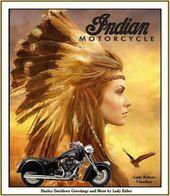 Indische Motorrad-Mädchen, die Fahrrad 45+ Ideen für 2019 reiten   – Vintage posters