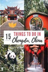 Top 15 Things To Do In Chengdu China