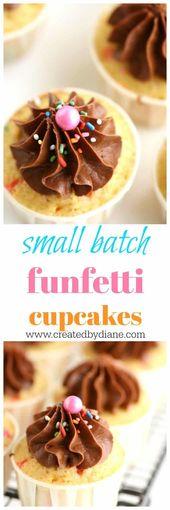 #cupcakes #frosting #funfetti www.createdbydian … #small #batch
