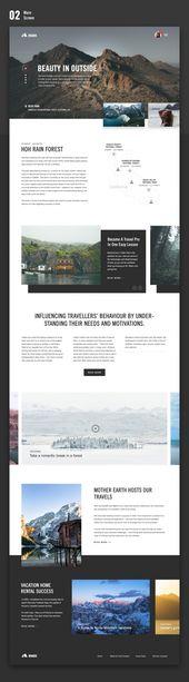 Carreteras (sitio web, panel de control, aplicación)   – Inspiration