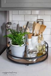 23 Neat, messy kitchen counter ideas to keep your kitchen in shape