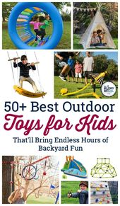 50+ Best Outdoor Toys for Kids That Bring Endless Hours of Backyard Fun