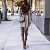 Overknees combine: outfits to fall in love with