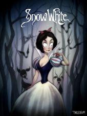 Et si les dessins animés Disney avaient été réalisés par Tim Burton?