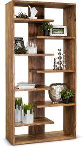 Medium Brown Solid Wood Bookcase Brownstone Amy Davis Amy Bookcase Brown Brownstone Davis Medium So Bucherregal Diy Diy Holz Einfache Holzprojekte