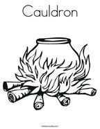 Cauldron Coloring Page Halloween Coloring Halloween Coloring Pages Coloring Pages