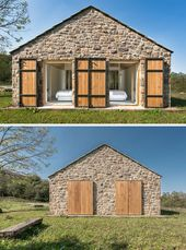 naturmaterialien haus design natursteinfassade hol…