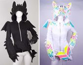 WANT!!! I love toothless! Do you want toothless hoodie ♥ y this hoodie is so expensive …