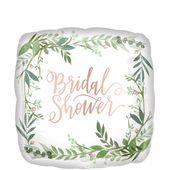Floral Greenery Bridal Shower Balloon