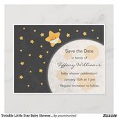 Baby Showers Twinkle Twinkle Little Star Baby Shower Save the Date