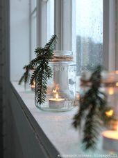 Schöne und einfache DIY Weihnachtsdeko #weihnachten – #DIY #einfache #kerzen #s