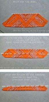 how to fold a bandana for a headband – #bandana #one # folds # for #head …