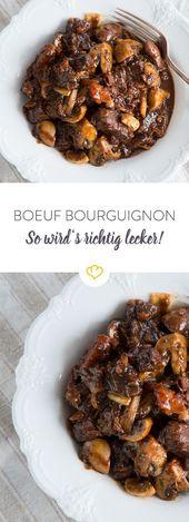 Boeuf Bourguignon – so wird's zart und saftig