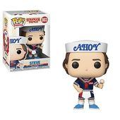 [PRE-ORDER] Funko POP! Stranger Things – Steve With Hat and Ice Cream Vinyl Figure #803