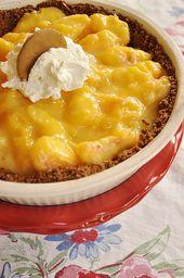 Frischer Pfirsichkuchen @ yourhomebasedmom.com #pie, #recipes, #peaches   – Dessert Recipes