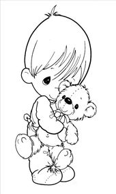 Precious Moments Free Printable Coloring Pages – Free Coloring Sheets