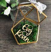 Jewerly box diy wedding 49+ ideas – Korb und Kiste