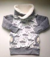 E-Book Sweater Pull * it * Über Größe 74 / 80-170 / 176 Mit dem Pullover PullitOver …   – Nähen
