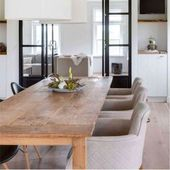 Esstisch DENGKLEH Teakholz massiv Holztisch Tisch