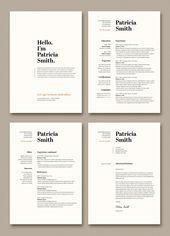 Illustrator Resume Resume stock graphic design and motion graphic templates   Adobe Stock