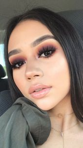 15 Fall Makeup Looks to Try This Season: Autumn Makeup Ideas 2019 –  #autumn #Fall #ideas #lo…