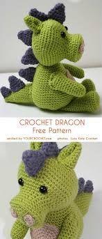 dragon amigurumi, dragon crochet, dragon crochet pattern, dragon ... | 343x147