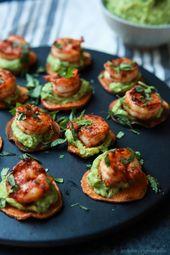 Cajun Shrimp Guacamole Bites | Paleo & Gluten Free Appetizer