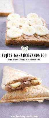 Sandwich Maker Recipes – 4 Healthy Sandwich Toasts Ideas