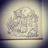 """Ratten werden fett, während mutiger Mann """"lov"""" stirbt #tattoo #ink #tattooart #inkart #inkstag …"""