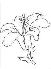 Lilie Malvorlagen schne ausmalbilder malvorlagen lilie ausdrucken 2 herunterlade…   – Malvorlagen – #Ausdrucken #Ausmalbilder #herunterlade #Lilie
