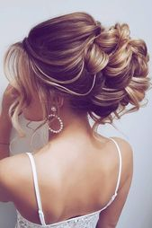 30 Bridal Hairstyles For Perfect Big Day Party #hairstyle 30 Timeless Bridal Hairstyles ❤ timeless bridal hairstyles elegant high updo on blonde hai…