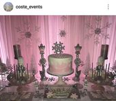 25+ ideas for baby shower themes for girls pink winter wonderland