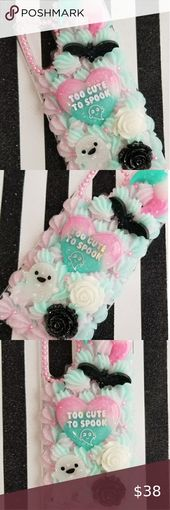 Phone Case Handmade Note 10+ creepy cute decoden phone case For the galaxy note 10+ Handmade, new wi...
